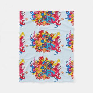 Pychedelic America Fleece Blanket