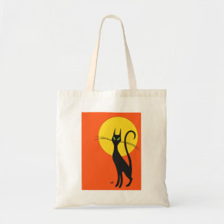 Pyewacket Black Cat Tote Budget Tote Bag