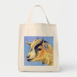 "Pygmy Goat Tote Bag - ""Sunny Goat"""