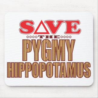 Pygmy Hippopotamus Save Mouse Pad
