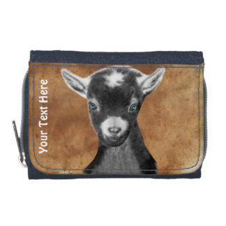 Pygora Goat Photo  Wallet