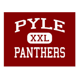 Pyle - Panthers - Middle - Bethesda Maryland Postcard
