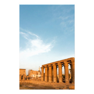 Pylon and Colonnade, Luxor Temple Stationery