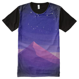 Pyramid All-Over Print T-Shirt