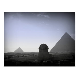 Pyramid and Sphinx Postcard