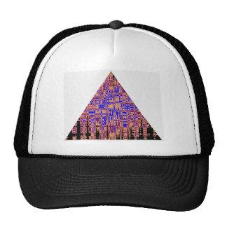 PYRAMID Blue Purple Cap