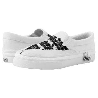 Pyramid // Custom Zips Shoes Printed Shoes