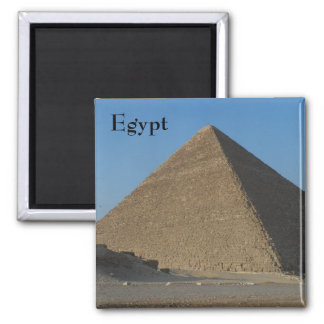 Pyramid- Egypt Square Magnet