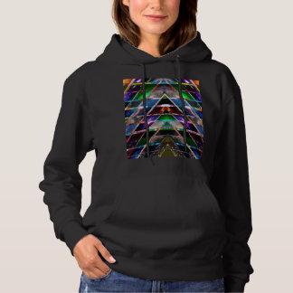 PYRAMID  - Enjoy Healing Energy Spectrum Hoodie