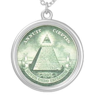 Pyramid Eye - Pendant