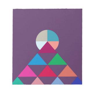 Pyramid Notepad