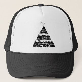 Pyramid of an eye //CAP Trucker Hat