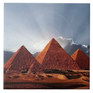 Pyramid of Egypt, Large Ceramic Photo Tile