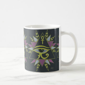 Pyramid power coffee mug