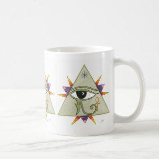 Pyramid power coffee mug