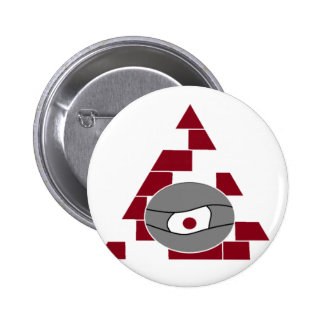 Pyramid Watch 6 Cm Round Badge