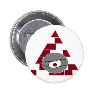 Pyramid Watch 6 Cm Round Badge