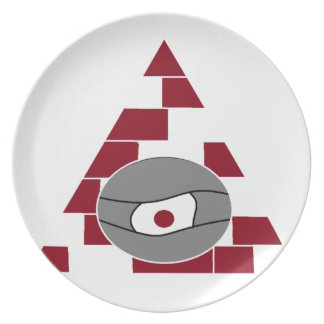 Pyramid Watch Dinner Plate