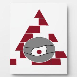 Pyramid Watch Display Plaque