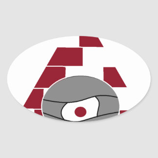 Pyramid Watch Oval Sticker
