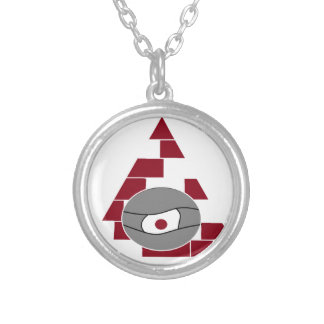 Pyramid Watch Round Pendant Necklace