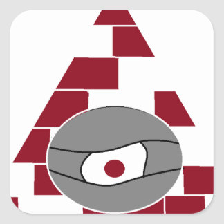 Pyramid Watch Square Sticker