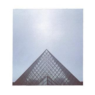 Pyramide Louvre Paris Notepad