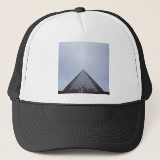 Pyramide Louvre Paris Trucker Hat