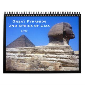 pyramids calendars