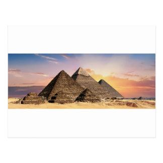 pyramids postcard