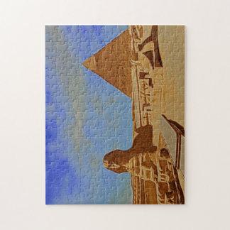 pyramids sphinx egypt jigsaw puzzle