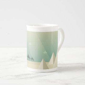 Pyramids Tea Cup