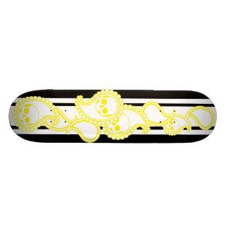 Pyre (Yellow) Skateboard Deck