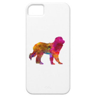 Pyrenean Mountain Dog in watercolor iPhone 5 Cases