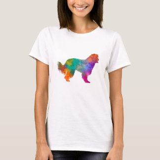 Pyrenean Sheepdog in watercolor T-Shirt
