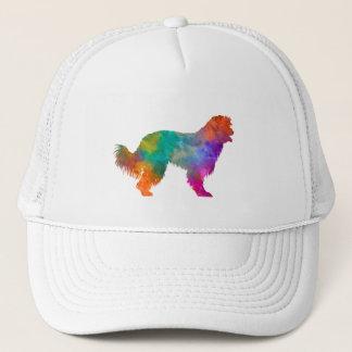 Pyrenean Sheepdog in watercolor Trucker Hat