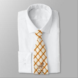 Pyrenean Shepherds Rock!!, printed on both sides Tie