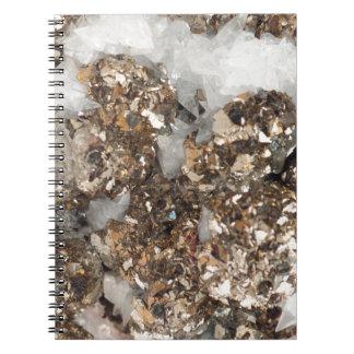 Pyrite and Quartz Notebook