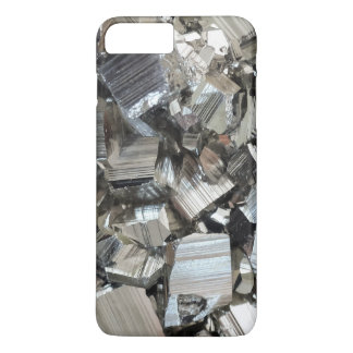 Pyrite Cluster Crystal Mineral Background iPhone 7 Plus Case