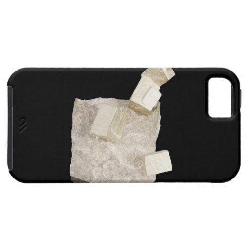 Pyrite Crystals in Shale iPhone 5 Case