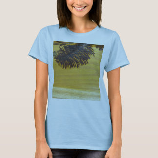 Pyrographic Palm Tree Frond T-Shirt