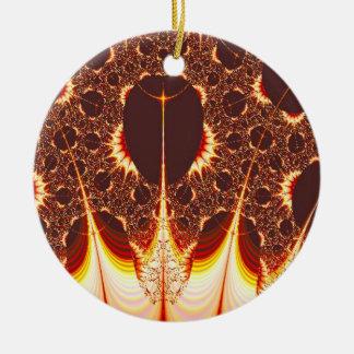 Pyromania Fractal Christmas Ornaments