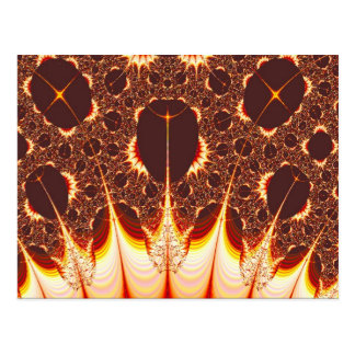 Pyromania Fractal Postcard