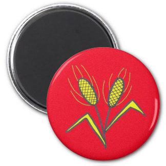 Pysanka Symbol: Wheat Magnet