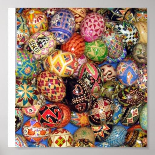 Pysanky - Ukrainian Easter Eggs Print
