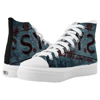 pyscho grundgy sneakers
