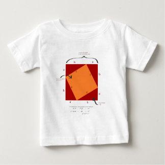 Pythagoras demonstration - math is beautiful. t-shirts