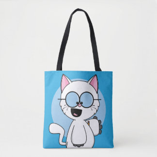 Pythagoras the Cat Tote