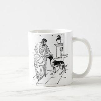 Pythagoras with Dog Coffee Mug