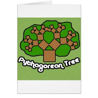 Pythagorean Tree Card
